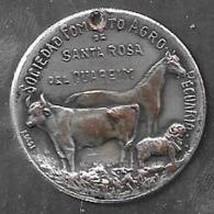 RECUERDO DE LA PRIMERA EXPOSICION NACIONAL GANADERA E INDUSTRIAL AGOSTO 2008 SANTA ROSA DE CUAREIM RARISIME URUGUAY - Monarquía / Nobleza