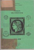 FRANCE : CATALOGUE OBLITERATIONS . 1849 - 1876 . J POTHION . - Francia