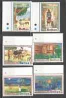 I451 BELIZE ART CULTURE FOLKLORE CHRISTMAS 1991 #1078-83 MICHEL 17 EURO SET MNH - Arts