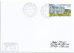 YT 596 - La Maison Orré - Résidence Du Préfet Des Taaf - FDC - Port Aux Français - Kerguelen - 17/09/2011 - Terres Australes Et Antarctiques Françaises (TAAF)