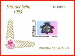 España. Spain. 1993. PO. Dia Del Sello. Buzon De 1908 - Día Del Sello