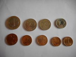 BULGARIJE 9 MUNTEN 1999 -2002 - Bulgarije
