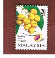 MALESIA (MALAYSIA)  -  SG 674  -   1998  FRUITS: KUNDANG   -  USED ° - Malesia (1964-...)