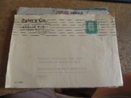 LOT DE 9 PERFORRES SUR DEVANT DE LETTRES ,petit Lot,vendu Tel-quel - Briefmarken