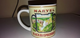 MARVEL BRAND-BLACK RASPBERRIES-GALLO DISIGN - Cups