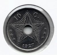 CONGO - ALBERT II * 10 Cent 1927 * F D C  * Nr 9958 - 1910-1934: Albert I