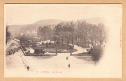 CPA Epinal, Le Cours, Ungel. - Epinal