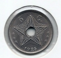 CONGO - ALBERT II * 5 Cent 1925 * FDC * Nr 9959 - 1910-1934: Albert I