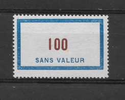 Fictif N° 125 De 1956 ** TTBE - Cote Y&T 2019 De 3 € - Ficticios