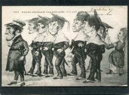 CPA - Illustration - Marins Effectuant Une Patrouille (Pas Jolis Mais Aimables) - Krieg