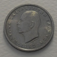 1962 - Grèce - Greece - 50 LEPTA, PAUL 1, KM 80 - Griekenland