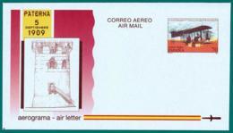 España. Spain. 1994. Aerograma. Air Letter. 85 Años Primer Vuelo Con Motor En España. Paterna 1909 - Enteros Postales