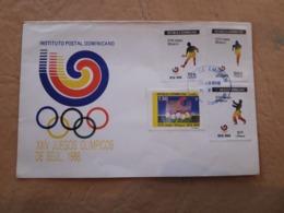 République Dominicaine, Jeux Olympiques Fdc De Séoul 1988 - Summer 1988: Seoul