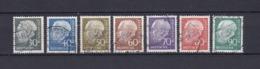 BRD - 1956/60 - Michel Nr. 259/265 - Gest. - Gebraucht