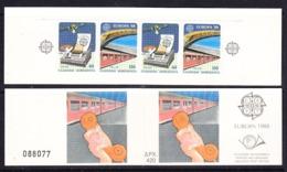 Europa Cept 1988 Greece Booklet ** Mnh (44935) - Europa-CEPT