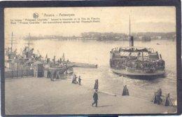 """ANVERS - ANTWERPEN - Boot """"Prinses Charlotte"""" Den Overzetdienst Doende Van Het Vlaamsche Hoofd - Antwerpen"""