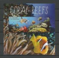 St Vincent 2012 Coral Reefs S/S Y.T. BF 678 ** - St.Vincent (1979-...)
