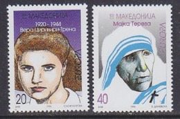 Europa Cept 1996 Macedonia 2v ** Mnh (44936) ROCK BOTTOM PRICE - Europa-CEPT