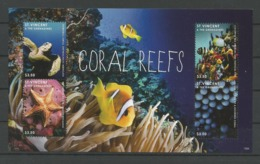 St Vincent 2012 Coral Reefs Sheet Y.T. 5692K/N ** - St.Vincent (1979-...)
