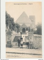 78 SAINT LEGER EN YVELINES L EGLISE CPA BON ETAT - St. Leger En Yvelines