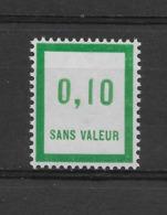 Fictif N° 141 De 1961 ** TTBE - Cote Y&T 2019 De 1,00 € - Phantomausgaben
