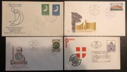 Europa - FDC - Premier Jour - Lot De 4 FDC - 1972 - 1972