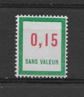 Fictif N° 142 De 1961 ** TTBE - Cote Y&T 2019 De 1,00 € - Phantomausgaben