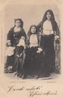 GALTELLI-NUORO-COSTUME TIPICO-CARTOLINA  VIAGGIATA IL 6-5-1901 - Nuoro