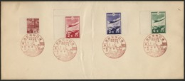 Victory Of The Battle Of Hankou (Wuhan), Commemorative Red Cancellation On Patriotic Aviation Fund Serie + N° Showa 230 - Covers & Documents