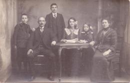 Seltene ALTE  Foto- AK   HAMME / Pr. Ostflandern  - Familien Aufnahme -  1910 Ca. Gedruckt - Hamme