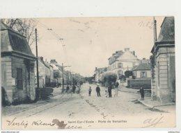 78 SAINT CYR L ECOLE PORTE DE VERSAILLES CPA BON ETAT - St. Cyr L'Ecole