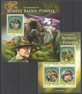WW512 2016 SIERRA LEONE 75TH ANNIVERSARY OF ROBERT BADEN-POWELL ORGANIZATIONS SCOUTING KB+BL MNH - Other