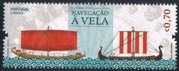 2018 - PORTOGALLO / PORTUGAL - NAVIGAZIONE A VELA / SAILING NAVIGATION. USATO / USED. - 1910 - ... Repubblica