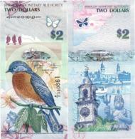 BERMUDA       2 Dollars       P-57c       1.1.2009 (2018)       UNC  [ Prefix: A/2 ] - Bermude
