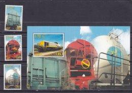 Belgium 1België 2000 Spoorwegvignet TVR 14/16 + Bl Nr 2- MNH** - Treni