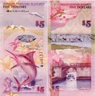 BERMUDA       5 Dollars       P-58       1.1.2009       UNC  [ Prefix: Onion ] - Bermuda