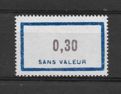 Fictif N° 147 De 1961 ** TTBE - Cote Y&T 2019 De 1,50 € - Phantomausgaben