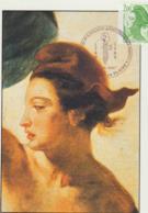 Carte Maximum FRANCE N°Yvert 2487 (LIBERTE Par DELACROIX) Obl Sp Ill Brazey En Plaine (Ed Arum) RR - Cartes-Maximum