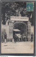 Carte Postale 91. Ris-Orangis  Hopital Militaire Ambulance Croix Rouge  Très Beau Plan - Ris Orangis
