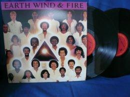Earth Wind & Fire 33t X2 Vinyles -  Faces - Soul - R&B