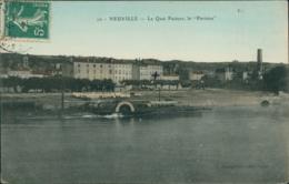 69 NEUVILLE SUR SAONE / Le Quai Pasteur - La Parisien / Carte Couleur - Neuville Sur Saone