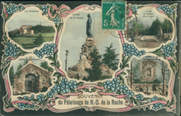 69 TARARE / Souvenir Du Pelerinage De N.D. De La Roche / Carte Composée - Tarare