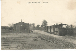 BOVEL. La Gare Départ Du Tramway. - Frankrijk