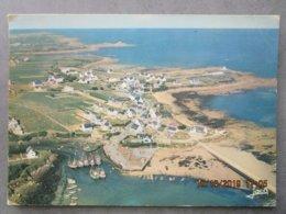CP 29 MOGUERIEC En SIBIRIL -  Vers Saint Paul De Léon - Vue Aérienne , Le Port Langoustier  Cliché Mopy 1972 - Saint-Pol-de-Léon