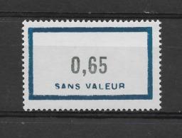 Fictif N° 150 De 1961 ** TTBE - Cote Y&T 2019 De 1,00 € - Phantomausgaben