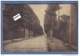 Carte Postale 62. Aire-sur-la-Lys  Route De La Gare Et Avenue Vauban Très Beau Plan - Aire Sur La Lys