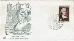 LCTN57PM- FRANCE FDC LA SALLE 28/4/1951 COTE EUR 90.00 - FDC