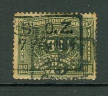 Haïti; Timbre Scott Stamp # J-13; Usagé / Used. (8198) - Haiti