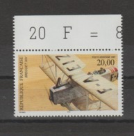 FRANCE / 1997 / Y&T PA N° 61 ** : Bréguet XIV (de Feuille) X 1 BdF Haut - Gomme D'origine Intacte - Luchtpost
