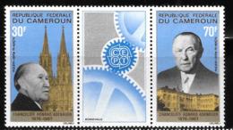 Cameroun Cameroon 1967 Konrad Adenauer Chancellor Of West Germany MNH - Cameroon (1960-...)